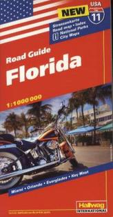 Hallwag USA Road Guide Florida