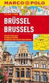 Marco Polo Citymap Brüssel. Brussels