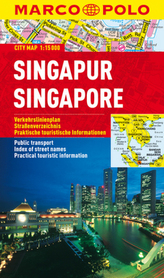Marco Polo Citymap Singapur. Singapore