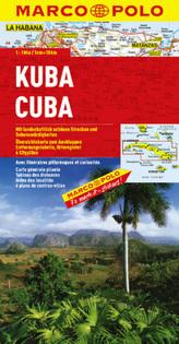 Marco Polo Karte Kuba. Cuba