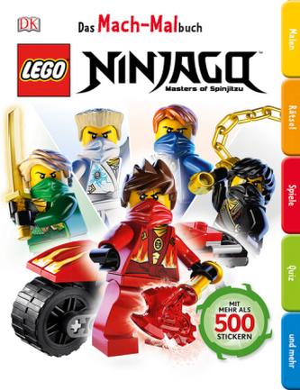 Das Mach-Malbuch - LEGO Ninjago