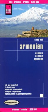 World Mapping Project Armenien. Armenia. Arménie