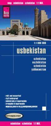 World Mapping Project Usbekistan. Uzbekistan. Ouzbékistan