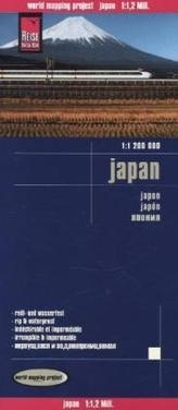 World Mapping Project Japan. Japon