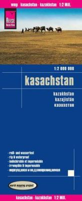 World Mapping Project Reise Know-How Landkarte Kasachstan (1:2.000.000). Kazakhstan / Kazajistán