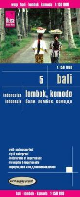 World Mapping Project Reise Know-How Landkarte Bali, Lombok, Komodo (1:150.000) - Indonesien 5
