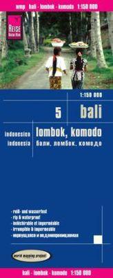 World Mapping Project Reise Know-How Landkarte Bali, Lombok, Komodo (1:150.000) - Indonesien 5