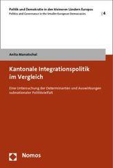Kantonale Integrationspolitik im Vergleich