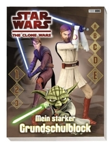 Star Wars The Clone Wars Grundschulblock