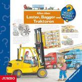 Alles über Laster, Bagger und Traktoren, Audio-CD