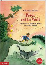 Peter und der Wolf, m. Audio-CD