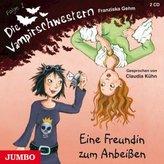 Die Vampirschwestern, Eine Freundin zum Anbeißen, 2 Audio-CDs
