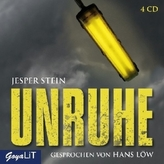 Unruhe, 4 Audio-CDs