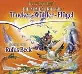 Die Nomen-Trilogie, 13 Audio-CDs