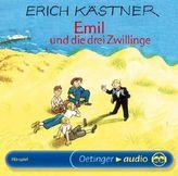 Emil und die drei Zwillinge, 1 Audio-CD