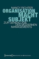 Organisation, Macht, Subjekt