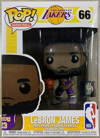 Funko POP NBA S4: Lakers - Lebron James