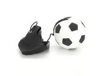 Míček na gumičce - fotbal