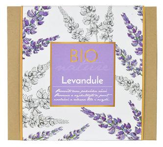 Vivaco dárková kazeta - 100 % levandulový olej + bylinná mast