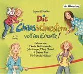 Die Chaosschwestern voll im Einsatz!, 4 Audio-CDs