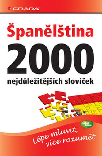 Španělština 2000 nejdůležitějších slovíček