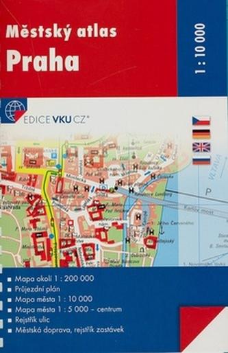 Městský atlas Praha 1:10 000