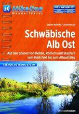 Hikeline Wanderführer Schwäbische Alb Ost