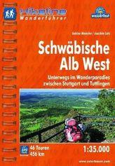Hikeline Wanderführer Schwäbische Alb West