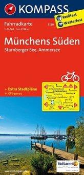 Kompass Fahrradkarte Münchens Süden