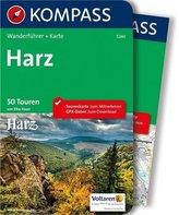 Kompass Wanderführer Harz, m. Karte