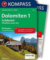Kompass Wanderführer Dolomiten, m. Karte. Bd.1