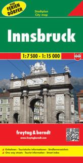 Freytag & Berndt Stadtplan Innsbruck