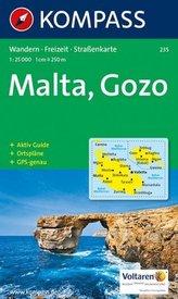 Kompass Karte Malta, Gozo