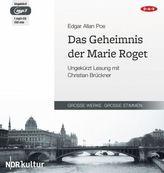 Das Geheimnis der Marie Roget, 1 MP3-CD