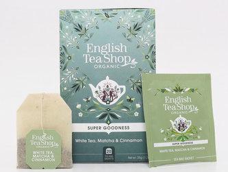 English Tea Shop Bílý čaj, Matcha, skořice - design mandala