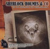 Sherlock Holmes & Co, Das Blut junger Frauen, Audio-CD