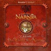 Die Chroniken von Narnia - Das Wunder von Narnia, 4 Audio-CDs