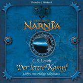 Die Chroniken von Narnia - Der letzte Kampf, 4 Audio-CDs