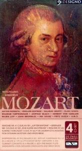 Wolfgang Amadeus Mozart, 4 Audio-CDs