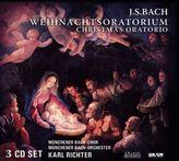 Weihnachtsoratorium BWV 248, 3 Audio-CDs