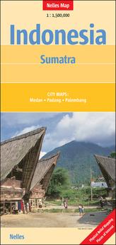Nelles Maps Indonesia: Sumatra