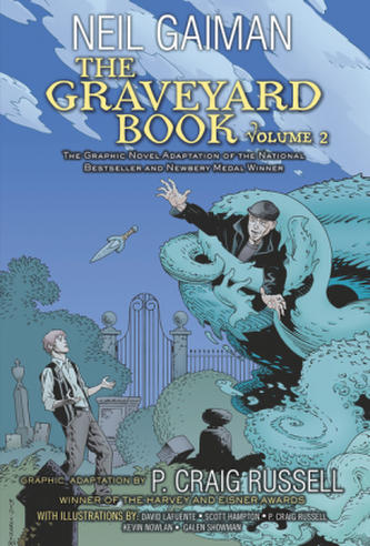 The Graveyard Book. Vol.2