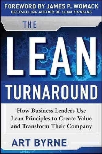 The Lean Turnaround - Byrne, Art