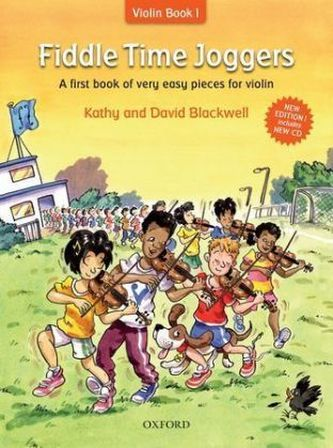 Fiddle Time Joggers, w. Audio-CD - Blackwell, Kathy