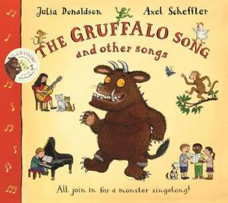 The Gruffalo Song and Other Songs, w. Audio-CD - Julia Donaldson