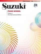 Suzuki Piano School, New International Edition, w. Audio-CD. Vol.1