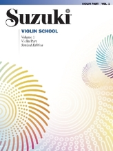 Suzuki Violin School, Revised Edition. Vol.1