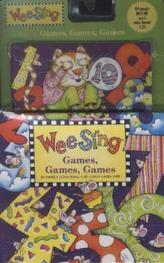 Wee Sing - Games, Games, Games, w. Audio-CD