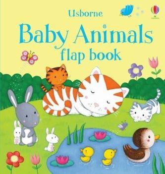 Usborne Baby Animals Flap Book - Taplin, Sam
