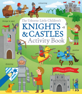 Little Children's Knights and Castles Activity Book - Rebecca Gilpin